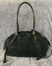 kate spade New York Black Suede Slouchy Shoulder Bag / Tote / Satchel, EUC