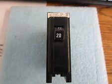 Cutler-Hammer Model: E-7819 Circuit Breaker.   Single Pole, 20A, 10K RMS  <