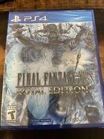 Final Fantasy XV: Royal Edition (Sony PlayStation 4, 2018) RPG Game Square Enix
