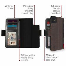 Twelve South BookBook SchutzHülle HandyHülle Handy Tasche for iPhone 11 brown
