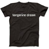 Tangerine Dream Tribute T-Shirt 100% Premium Cotton Phaedra Rubycon Ricochet