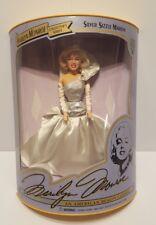 Marilyn Monroe Silver Sizzle 1993 Collector's Series Doll #3 *Nib *Coa *
