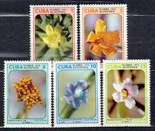 1Cuba 1974 Mi 1995-1999 Flowers - MNH