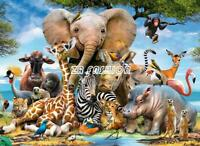 1000 Pieces Animal Elk Jigsaw Puzzle Educational Family Adult Kids DIY Game Toy