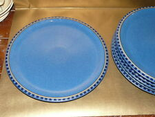 "denby reflex blue dinner plate 10.5"" (several available)"