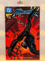Nightwing #1 1/2 (9.0) VF/NM Wizards Edition Batman 1997 DC Comics Key Issue