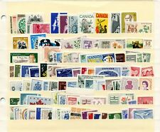 LOT 66429 CANADA  MINT NH CANADIAN STAMP  COLLECTION FROM THE 1960'S