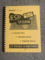 🔥Esp Session By Nick Trost Out Of Print Card Magic Book - Mentalism /RARE🔥