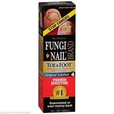 Fungi Nail Brand Toe Foot Anti Fungal Solution 1 oz Stops Fungus