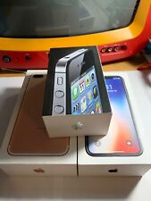 Apple IPhone X , I Phone 7 Plus , I Phone 4 Lot Of 3 Boxes Only.