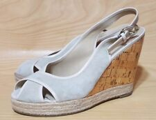 Aldo Wedge Slingback Womens Shoes Size 8 / 38
