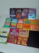 Janet Evanovich/Carla Neggers Book Lot - Hardcover and Paperback (16 books)