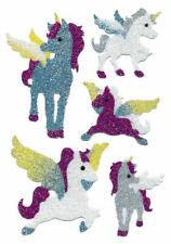 Sticker Einhörner Glitzer Magic Einhorn Pferde