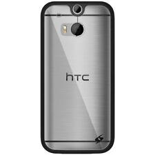 AMZER SlimGrip Hybrid Case - Black For HTC One M8 M8s M8 EYE