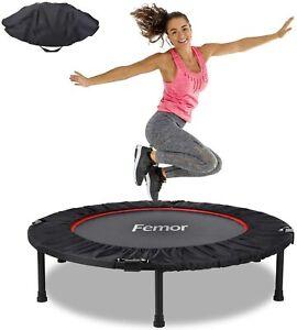 "40""Fitness Trampoline Mini Rebounder Fitness Foldable Gym Cardio Jump Trainer"