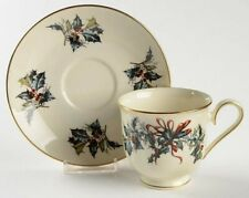 Lenox Winter Greetings Fine Ivory China Cup & Saucer