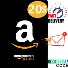 $20 Amazon Gift Card - Amazon Card US 20 Dollar Digital Key - US ONLY
