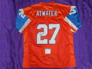 Steve Atwater SIGNED Autographed Denver Broncos Autographed NFL Jersey COA