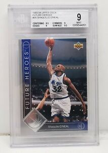 1993-94 Upper Deck Shaquille O'Neal 'Future Heroes' basketball card #34 Graded