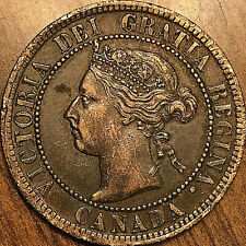 1899 CANADA LARGE CENT COIN LARGE 1 CENT PENNY
