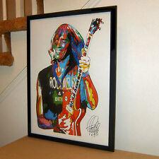 Tom Scholz, Boston, Guitar, Hard Rock, Bass, Keyboards, Rock,18x24 POSTER w/COA