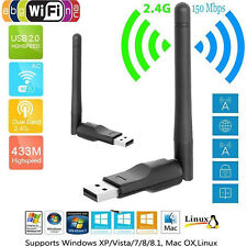 USB WLAN.Adapter 150Mbps 2,4GHZ Dual Band WiFi LAN Adapter Stick Ralink RT5370