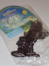 Tinker Bell Kneeling With Big Angel Wings Pewter Key Chain Keychain Disney