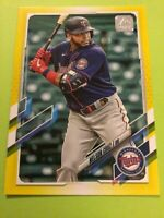 Nelson Cruz 2021 Topps Yellow Walgreens SP Parallel # 219 Minnesota Twins