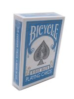 Bicycle Poker Size Turquoise Back Playing Cards, 1 Joker Included
