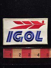 IGOL MOTOR OIL & ENGINE LUBRICANT Racing Motorsport Auto Patch 66ZZ