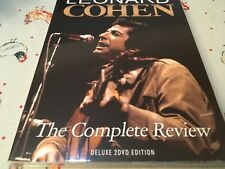 LEONARD COHEN THE COMPLETE REVIEW 2x. DVD NEW SEALED ALL REGIONS 151 MINS
