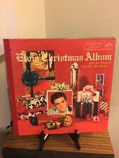 "ROCKABILLY LP - ELVIS PRESLEY ""CHRISTMAS ALBUM"" RCA LOC 1035 (ORIG)"