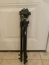 Bogen Professional 3211Aluminum Tripod With 3126 Head by Manfrotto Made in Italy