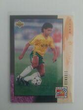 1994 Upper Deck World Cup English/Spanish #326 Romario Brazil Soccer Card