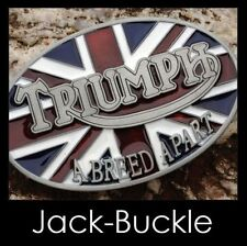 Gürtelschnalle Buckle Triumph Biker Great Britain Motorrad Speed