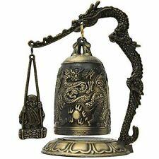 Oriental Furniture Dragon Gong Decorative Bell