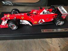 """F1 Ferrari F2003 GA Evolution """"Marlboro"""", M. SCHUMACHER, 1/18 NEUF dans boite"""