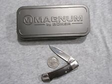 Boker Magnum folding knife with tin lot G