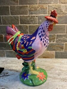 RARE SPRING CHICKEN POULTRY IN MOTION SHARON NEUHAUS WESTLAND GIFTWARE #16204