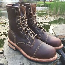 $495 TIMBERLAND BOOT COMPANY® SMUGGLER'S NOTCH 8-INCH CAP TOE BOOTS. SIZE:7