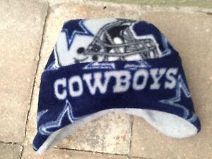 Dallas Cowboys Ear Flap Fleece Hat - Newborn baby boy,girls, Adult Men & Women