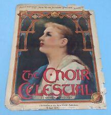 Antique Sheet Music The Choir Celestial 1900 By Arthur Trevelyan