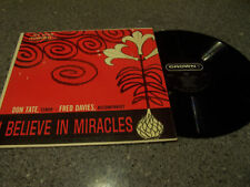 """Don Tate """"I Believe In Miracles"""" CROWN LP OLNEY, IL"""