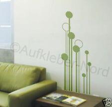 Design Usine Stickers muraux Fleur Cercles autocollants tatouage mural Couloir