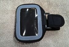 Iphone or Ipod touch Running/Gym Armband Case Cover Black/Grey