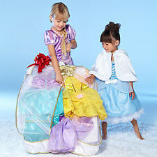 Disney NWT Princess Wardrobe Costume Rapunzel Jasmine Belle Medium Med 7/8 7 8