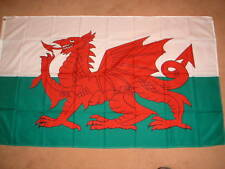 WALES RED DRAGON  FLAG 8'X5'   POST FREE IN UK