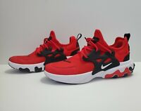 Nike React Presto GS Red Black White Kids Youth Running Shoes Sz 6Y (CU4866-600)
