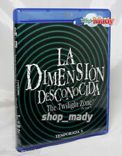 The Twilight Zone - La Dimension Desconocida Temp. 3 Blu-ray En Español Latino