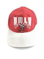 Vintage 90s Snapback Hat Unlv Rebels The Game Ncaa College Cap